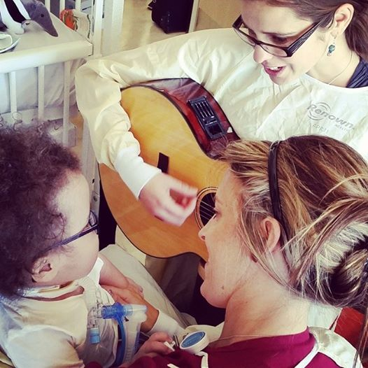 Music therapy at Renown Children's Hospital